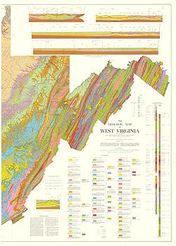 Geologic Maps of West Virginia on minnesota map, new jersey map, florida map, oregon map, georgia map, delaware map, louisiana map, colorado map, utah map, pennsylvania map, alabama map, arizona map, missouri map, texas map, south carolina map, massachusetts map, illinois map, state map, north carolina map, tennessee map, indiana map, wv map, maryland map, california map, arkansas map, new york map, kentucky map, michigan map, ohio map,