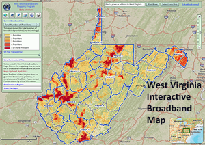 Interactive Broadband Map