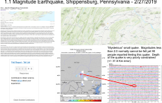 WVGES Seismicity in West Virginia and Region