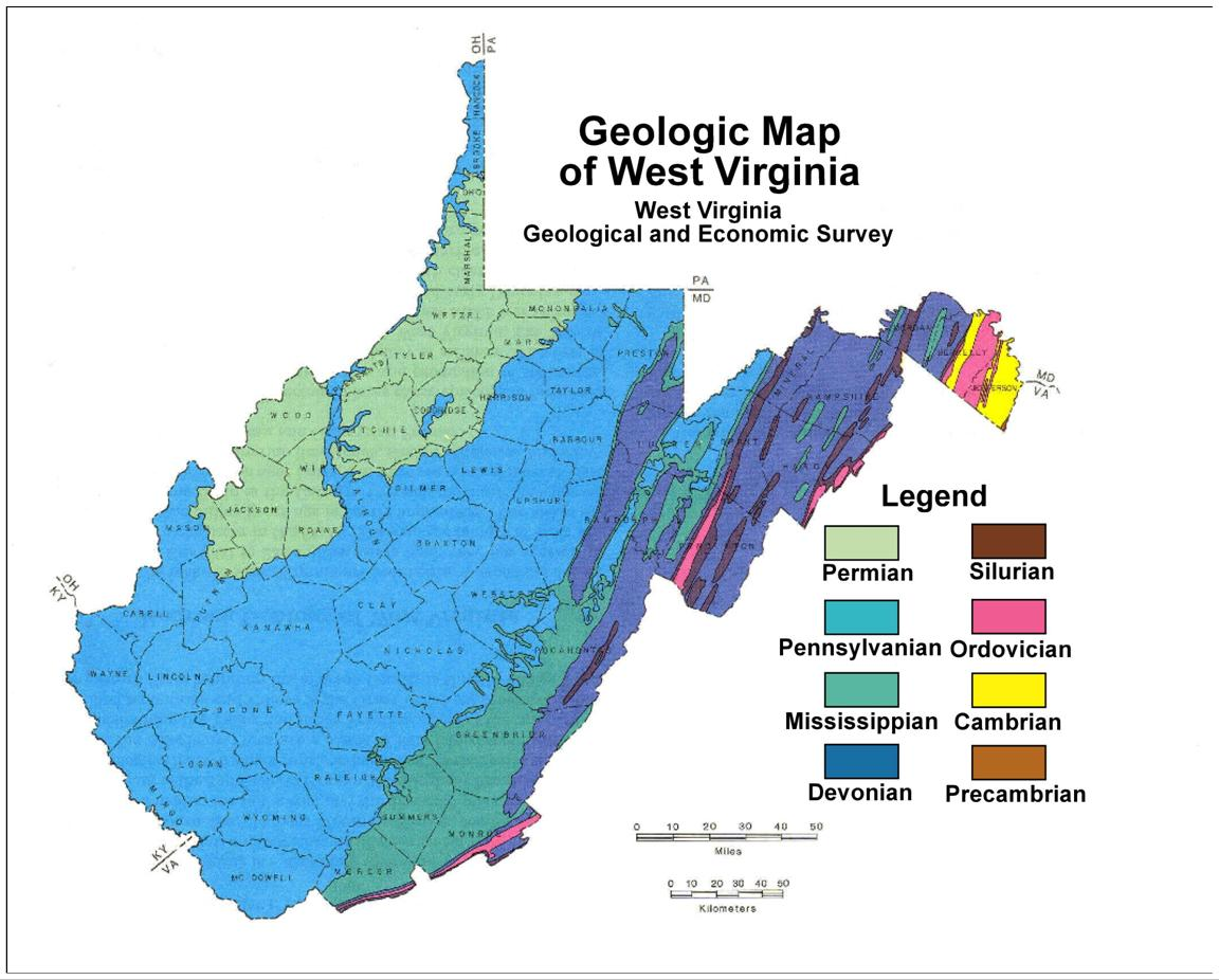Natural Resources Found In Virginia