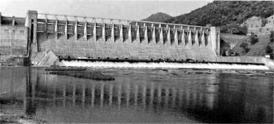 Bluestone Dam, West Virginia