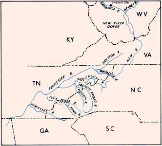 Appalachian rivers