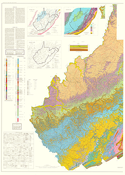 Geologic Maps of West Virginia