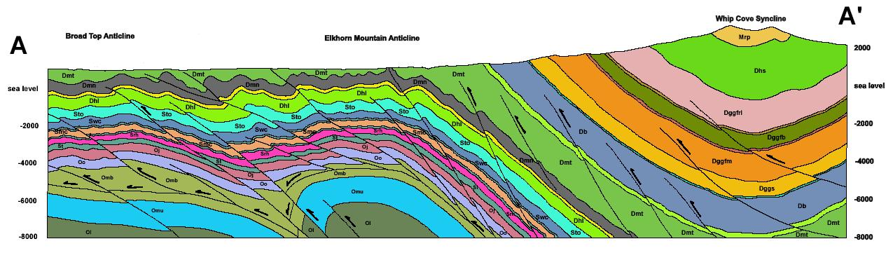 Wvges Statemap Projects Moorefield Bedrock Geology
